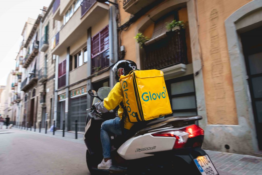 And the Glovo goes to…